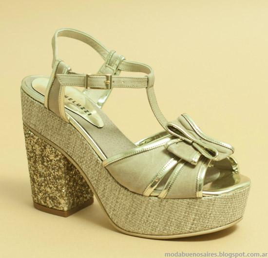 Zapatos y sandalias primavera verano 2014 Micheluzzi