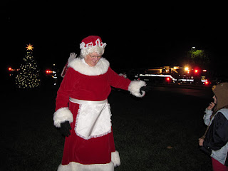 Bowie,Maryland,Christmas Tree Lighting,Belair Mansion,Mrs. Claus