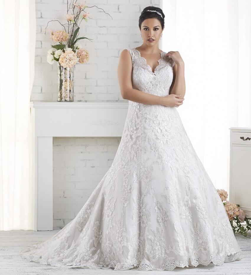 Plus Size Wedding Dresses Discount