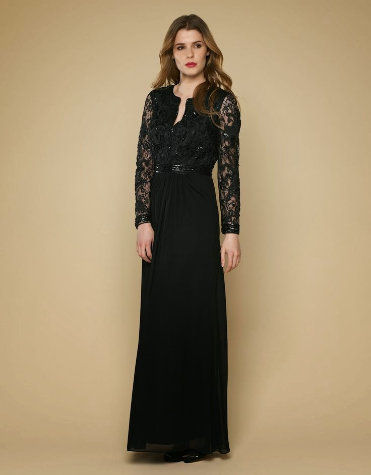Monsoon Mila Maxi: Affordable Wedding Dresses - Paint it Black