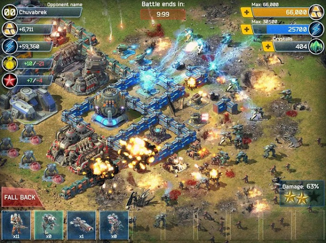 Battle for the Galaxy Game Strategi Baru Untuk Android