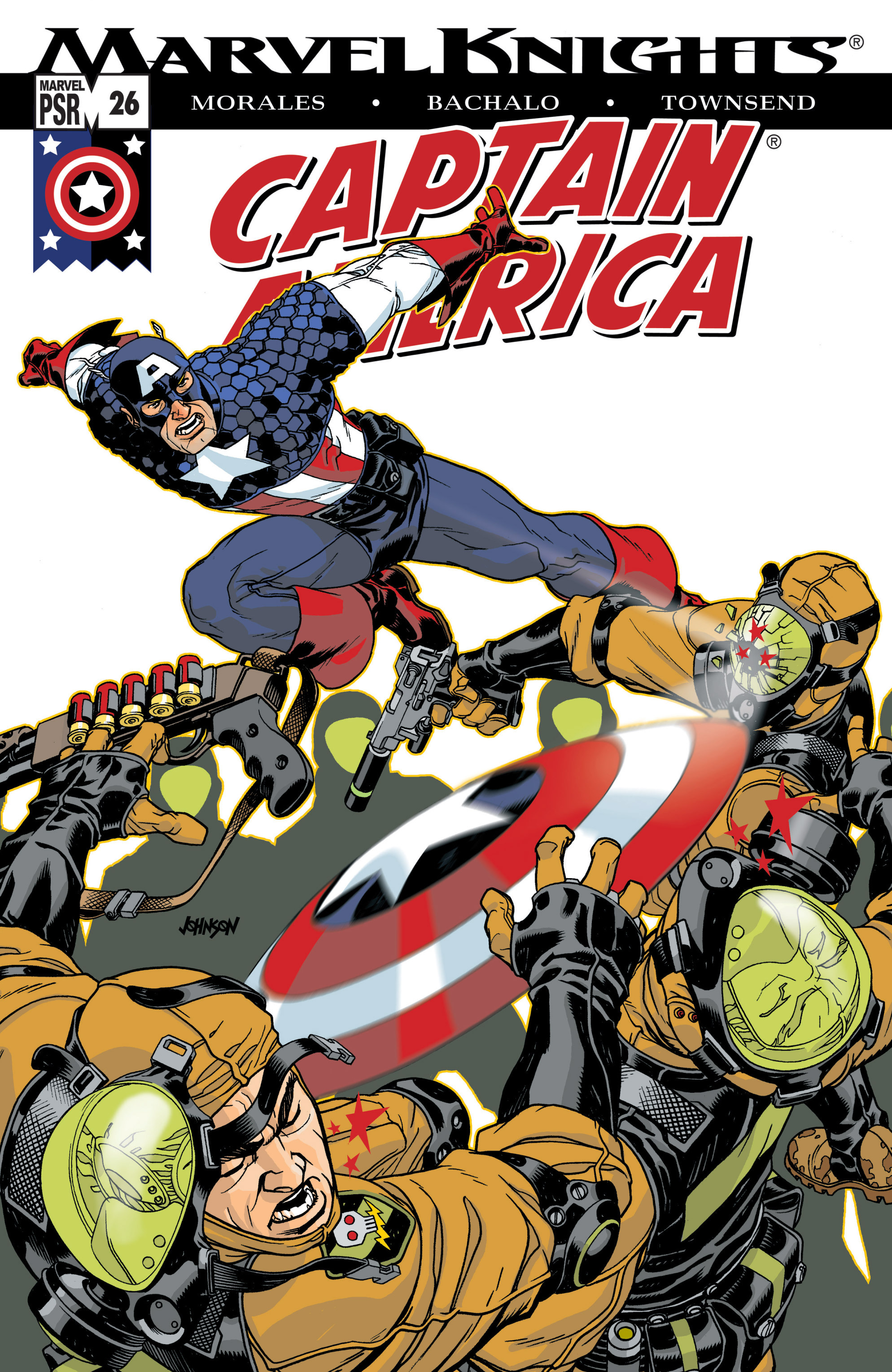 Captain America (2002) Issue #26 #27 - English 1