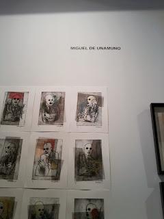 Estampa, 2013, Feria de arte, Exposiciones Madrid, Matadero, Blog de arte, Voa-Gallery, Yvonne Brochard, Miguel de Unamuno, Galería José Rincon,