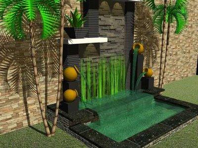 rumah minimalis dengan menghadirkan taman di halaman atau ruangan