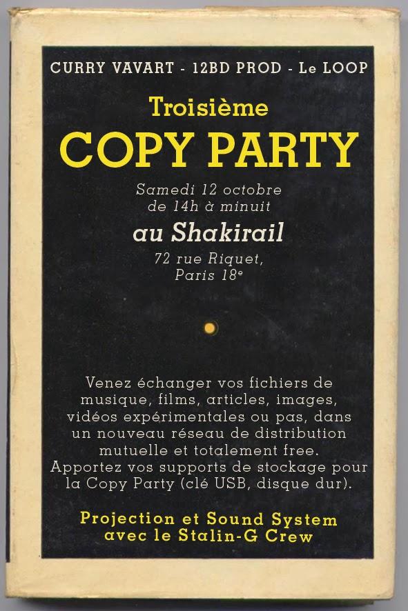 Affiche de la copyparty