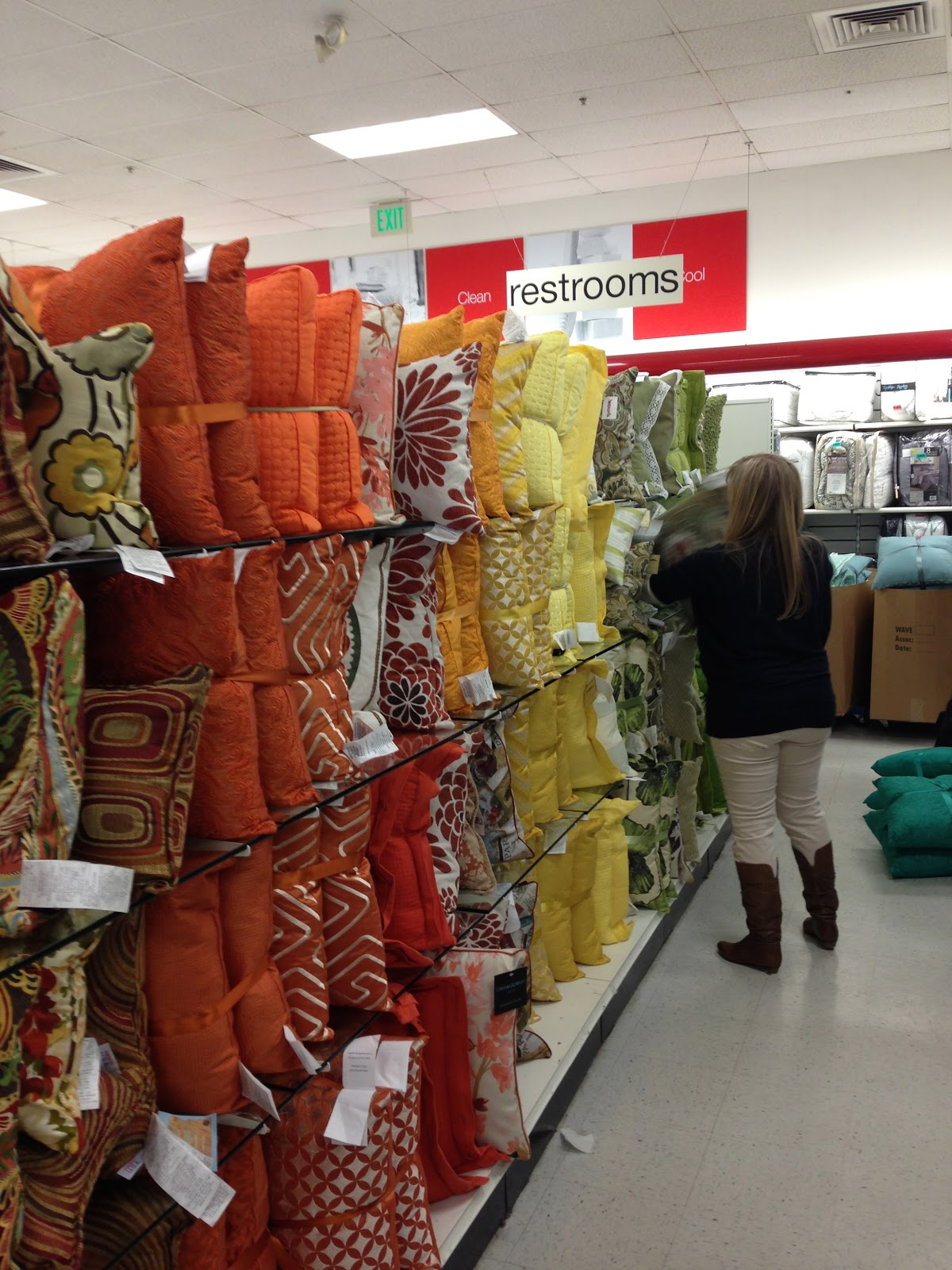 Decorative Pillows At Tj Maxx : Dave is Home: January 2013