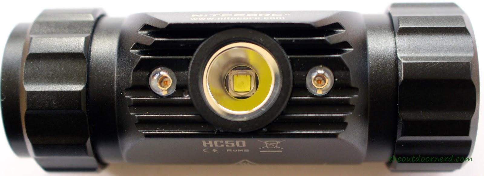 Nitecore HC50 Headlamp View 3