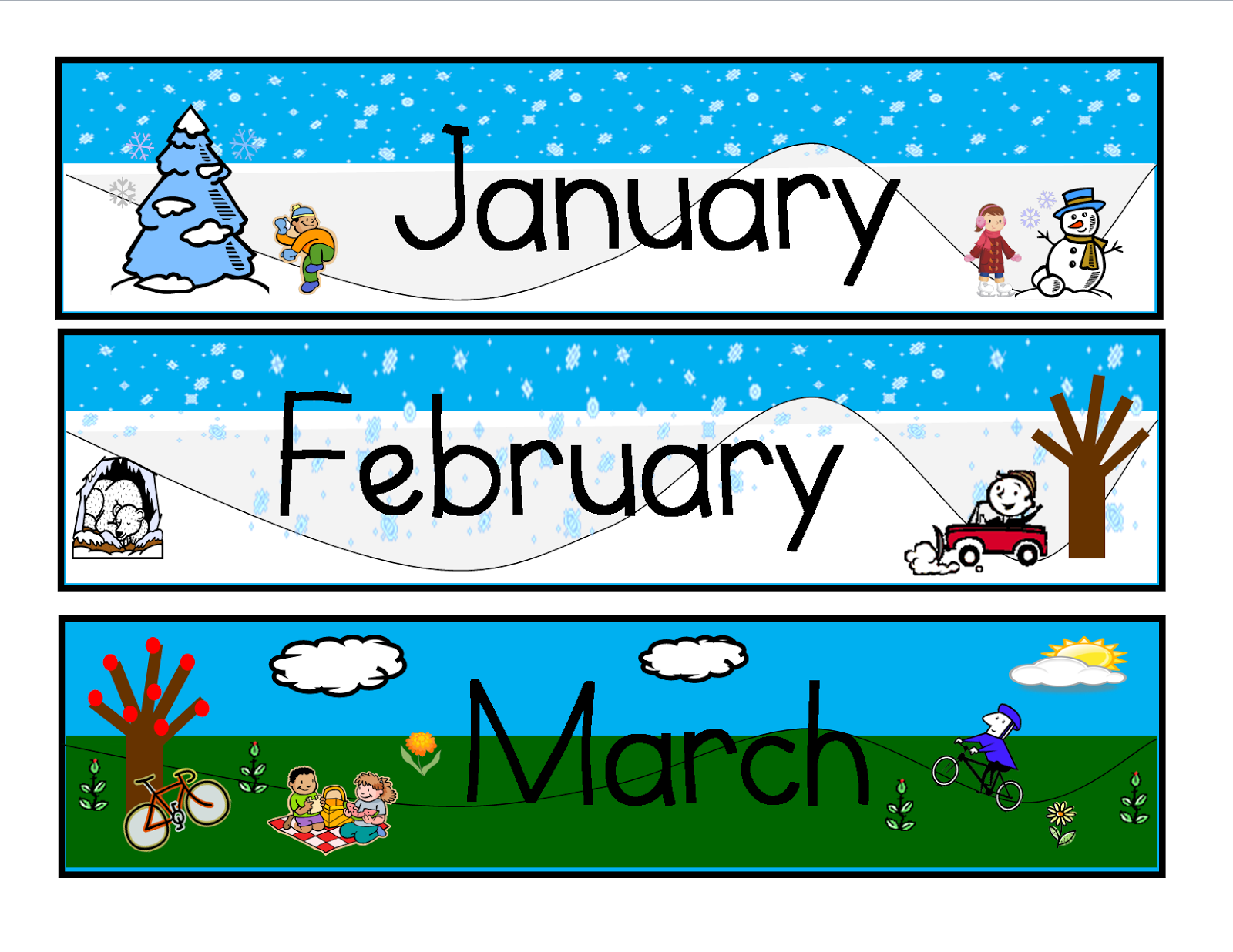 Teachers R US: Yearly Calendar with Dates