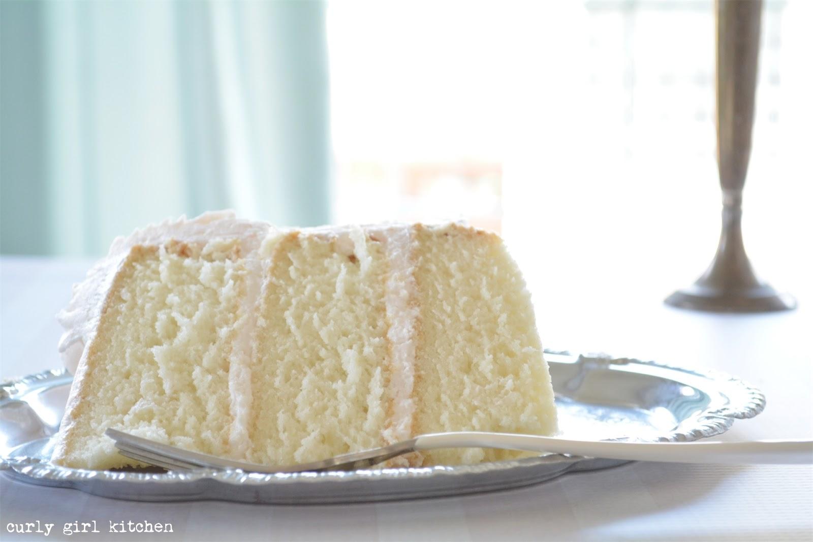 Curly Girl Kitchen White Cake