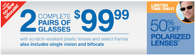 free eye info print your sears optical special 2012