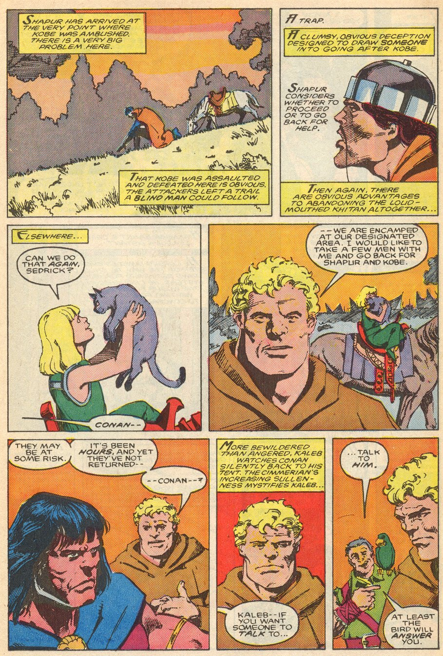 Conan the Barbarian (1970) Issue #195 #207 - English 18