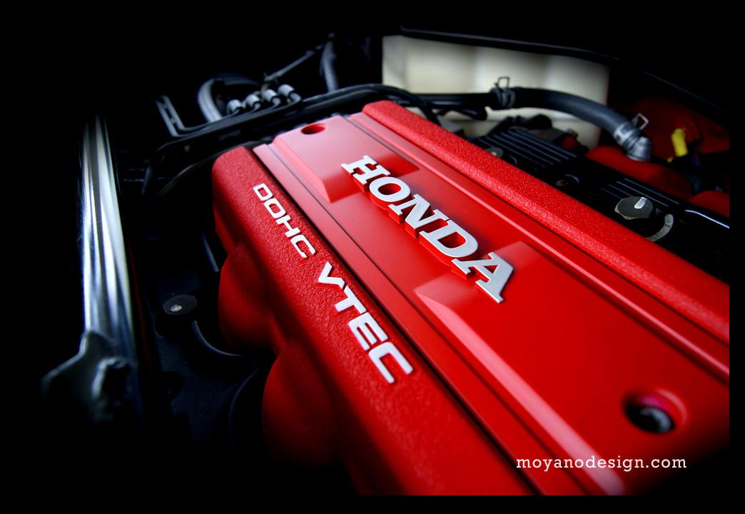 Honda NSX silnik, kultowy samochód, VTEC is kicking in yo, badass engine, typowa Honda, fotografie