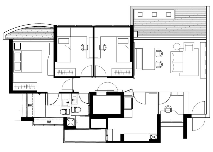 Ideal Layout plan after