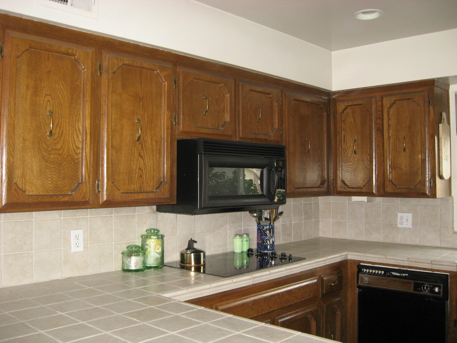 Kitchen Cabinets and Tile