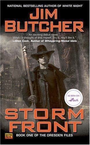 books like the dresden files