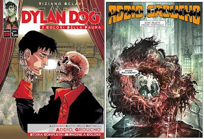 Dylan Dog - I colori della paura - Addio Groucho