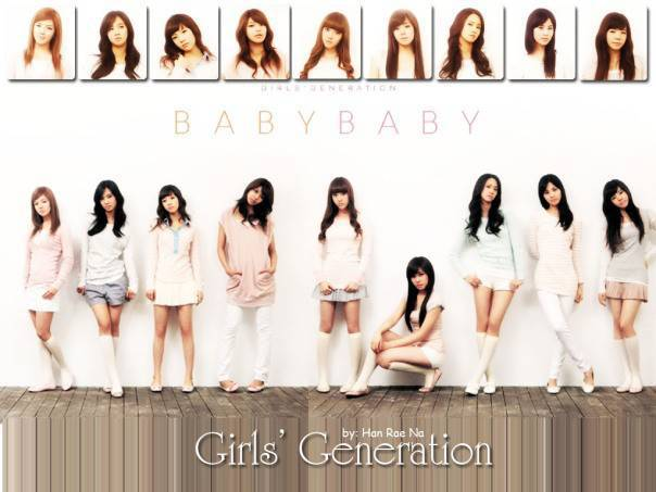 Girls' Generation Baby Baby