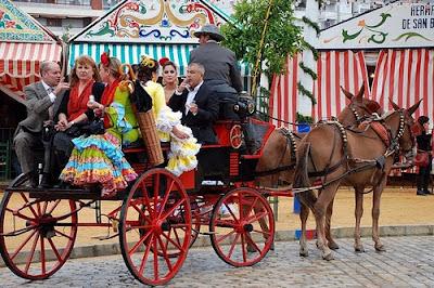 Feria de Abril in Sevilla - koets