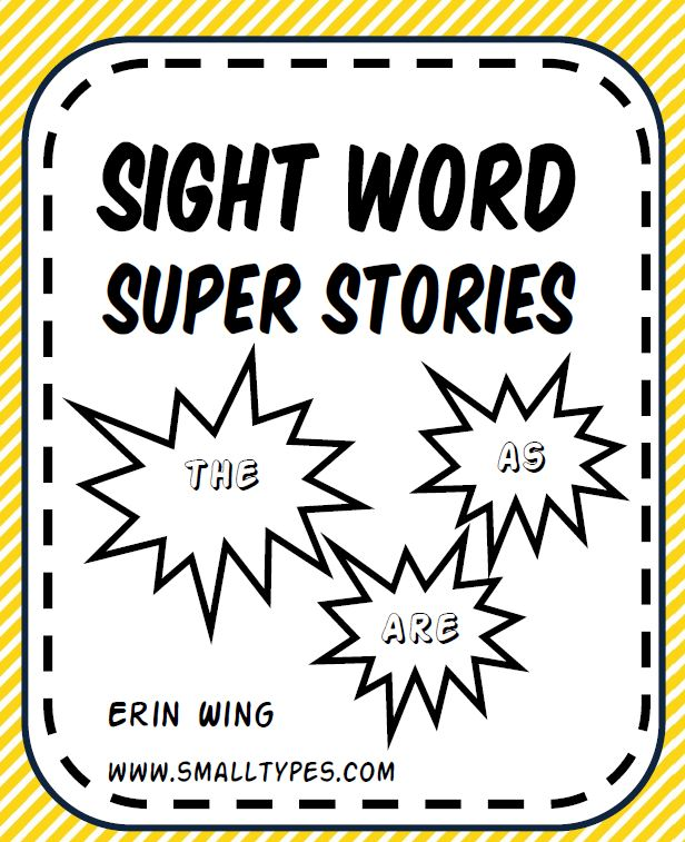 No Prep: One Page Easy Reader Sight Word Stories by Kindergarten ...