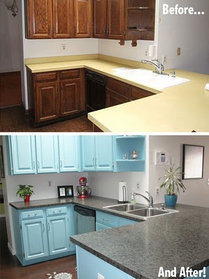 Cozinhas antes e depois decora o e inven o for Restaurar muebles de cocina