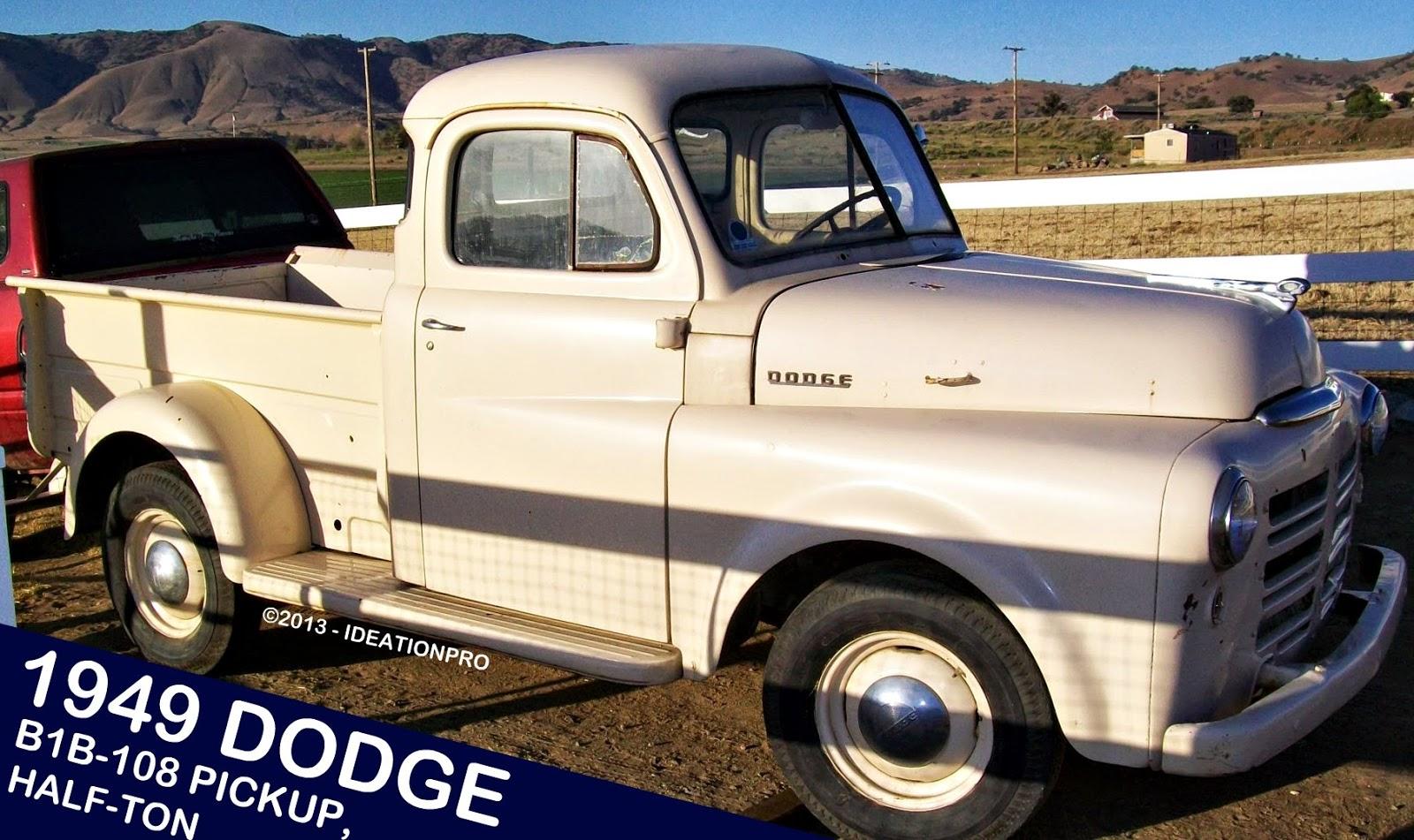 1949 Dodge Truck 1 Ton Tow B1b 108 Pickup