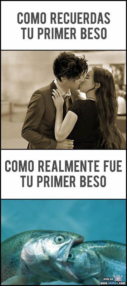 Como recuerdas tu primer beso