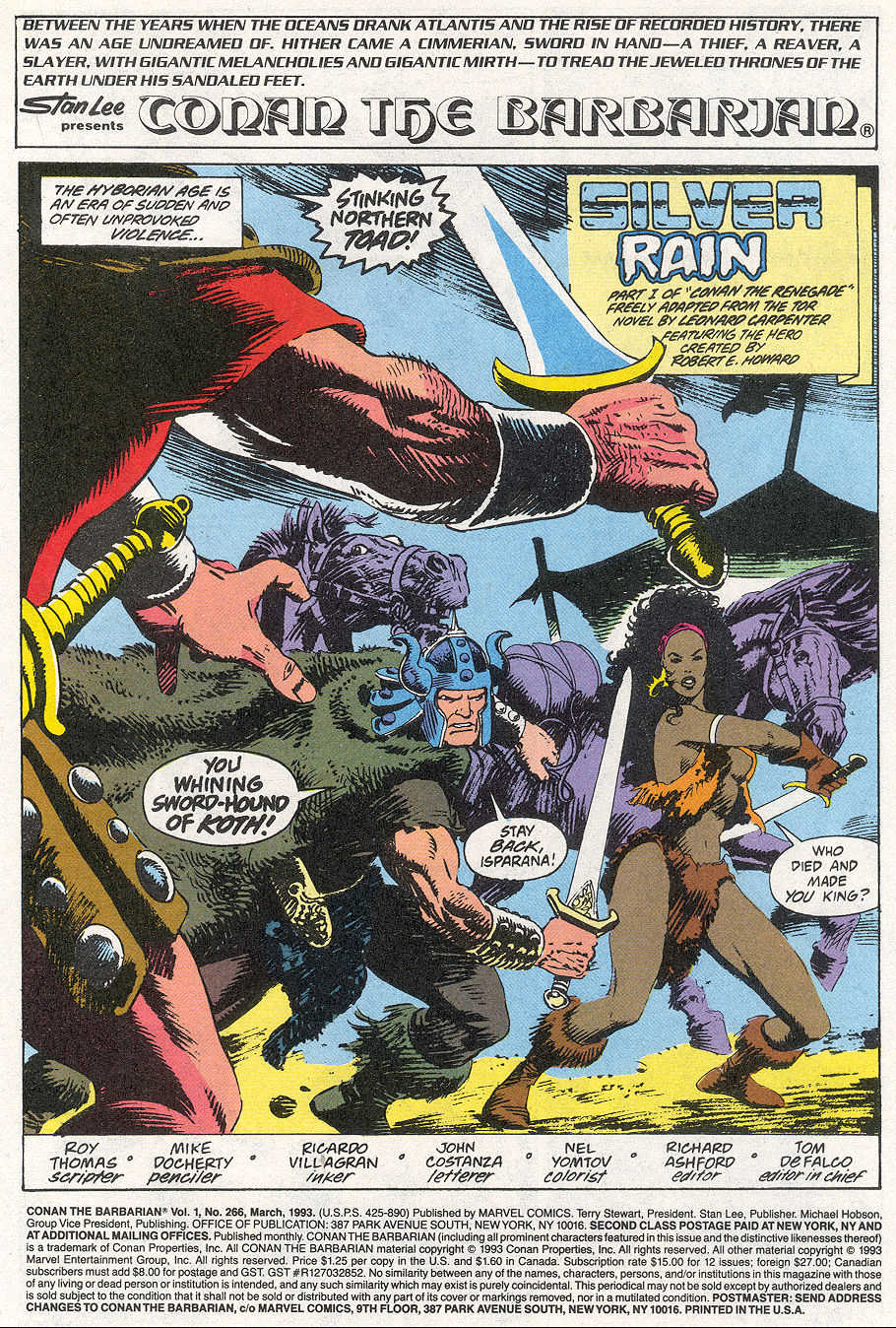 Conan the Barbarian (1970) Issue #266 #278 - English 2