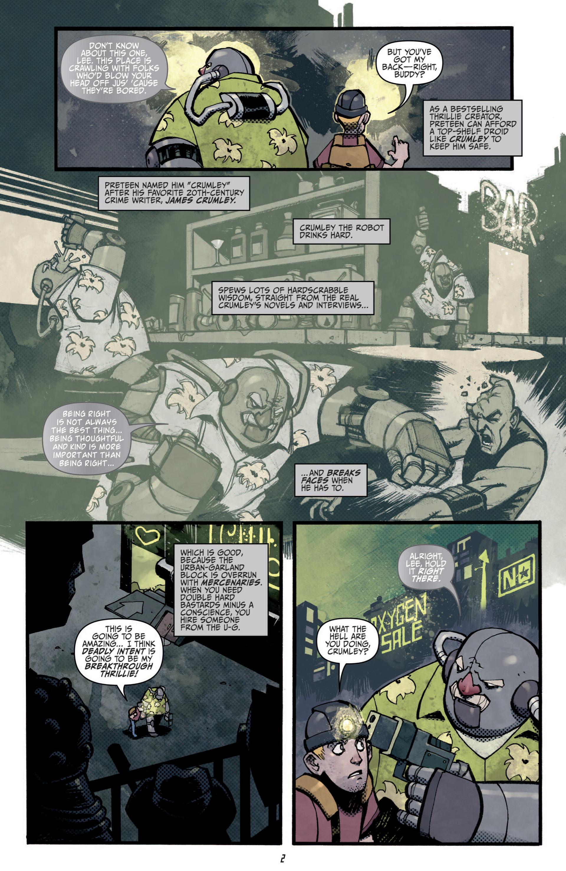 Read online Judge Dredd (2012) comic -  Issue #5 - 4