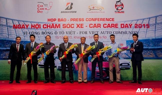 Họp báo giới thiệu Ngày hội chăm sóc xe 2015