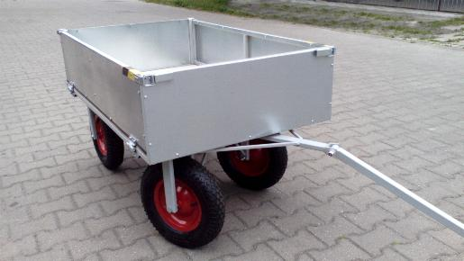 Wózek do traktorka Partner Siedlce kosiarki