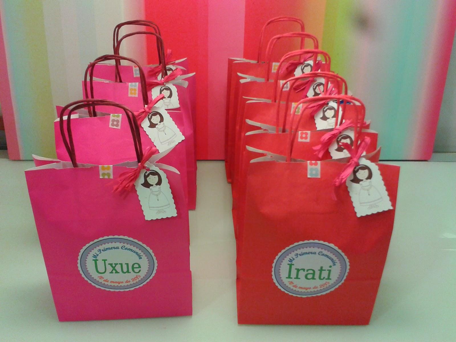 Chuchedetalles pamplona bolsas de chuches para la - Bolsas de regalo personalizadas ...