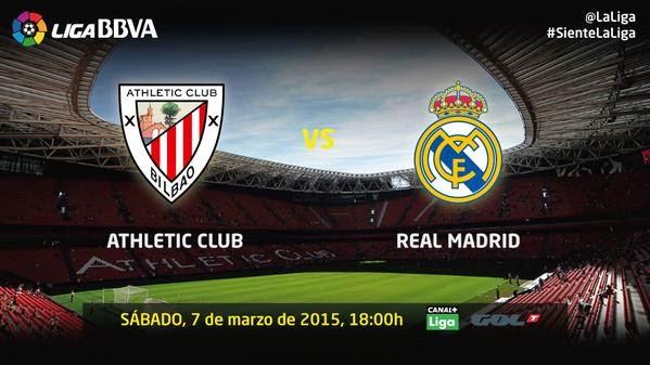 اهداف مباراة أتلتيك بلباو وريال مدريد 1-0|| الدورى الاسبانى || السبت 7-3-2015 athletic de bilbao vs real madrid