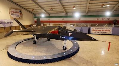 Iran Launching Pesawat Tempur Terbaru Buatan Dalam Negeri