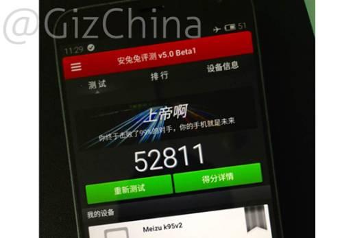 Punteggio più alto su AnTuTu: Meizu MX4