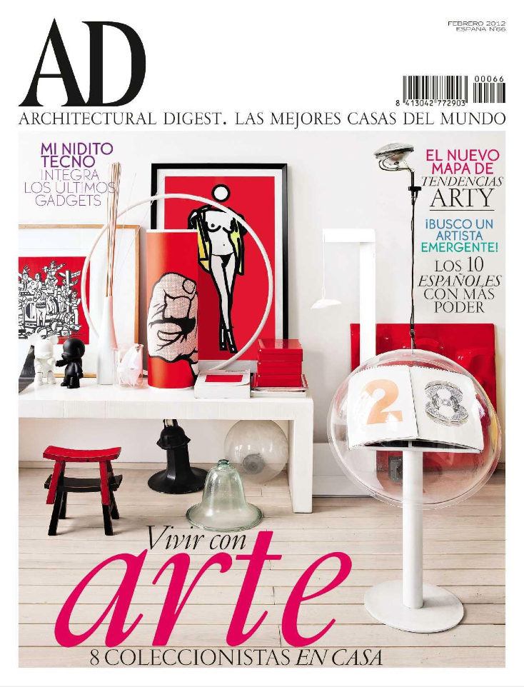 revistas decoracion kiosco mi adorada revista ad se ha apuntado a las nuevas tecnologas