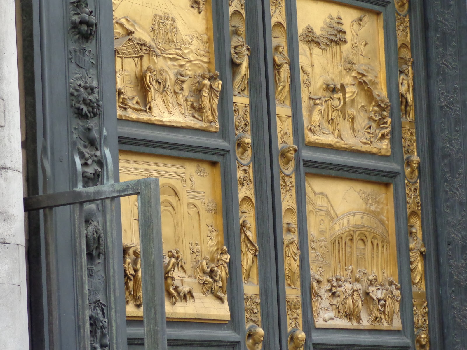 The Gates of Paradise East doors to the Florence Baptistery - Bottom ... & Highly Defined Reality - A Daily Photo Blog by Micah Goff: The ... Pezcame.Com