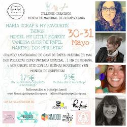 Workshop 2º aniversario Ojos de Papel