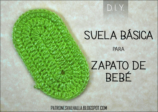 suela zapatos crochet | facilisimo.com