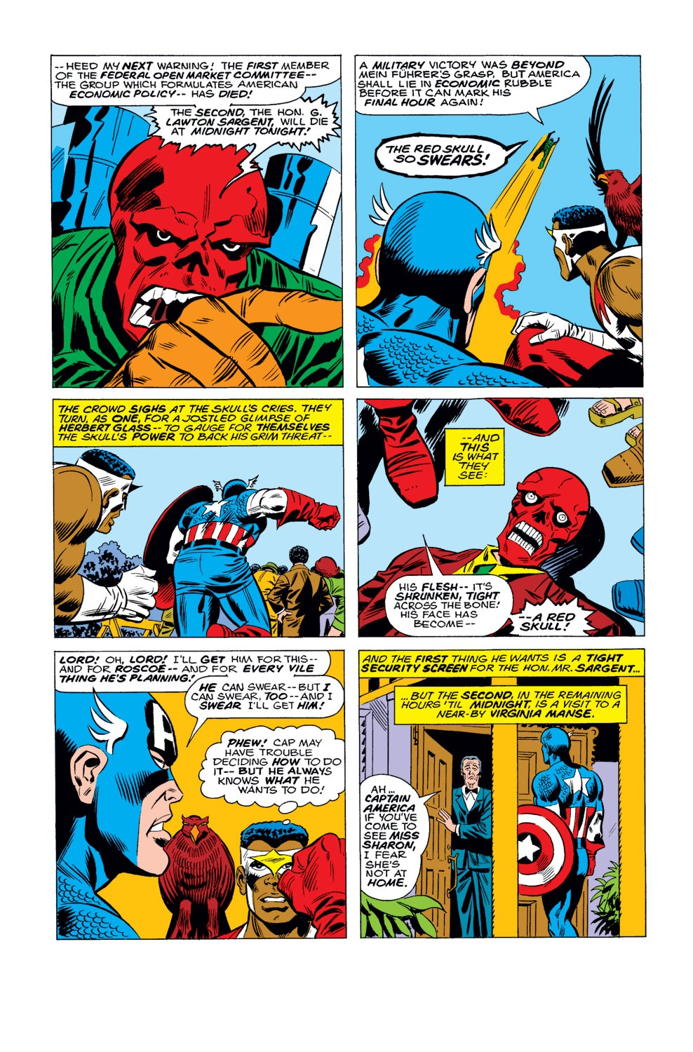 Captain America (1968) Issue #184 #98 - English 13