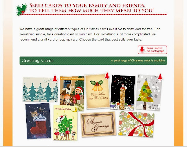 English is funtastic a great range of different types of christmas a great range of different types of christmas cards available to download for free m4hsunfo