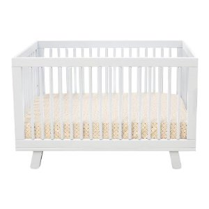 one of the reasons we like this crib is for its modern appeal it also has four mattress heights while the ikea cribs only had two the babyletto hudson