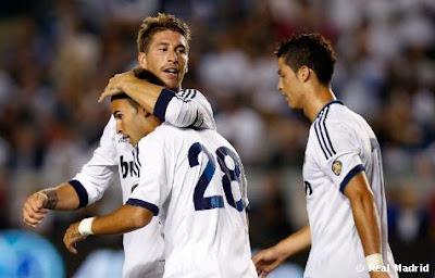 Real Madrid venció con lo justo al Santos Laguna