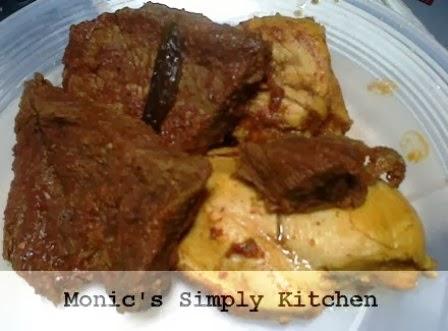 daging sapi untuk resep sate padang