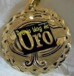 Premio blog de oro. Mi décimo premio