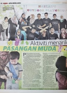 #HaikalOPG in Utusan Malaysia (8/11/2014)