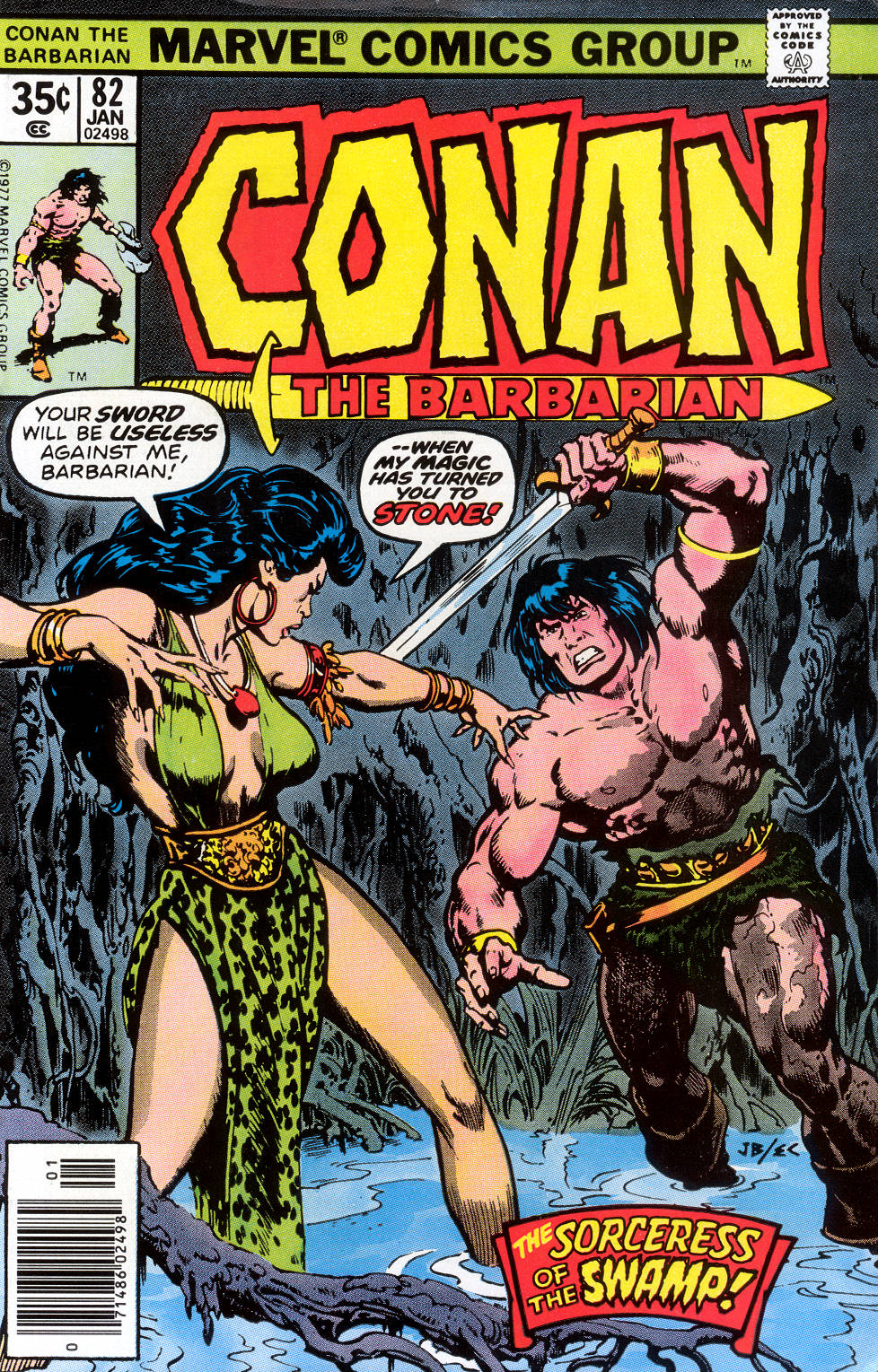 Conan the Barbarian (1970) 82 Page 1