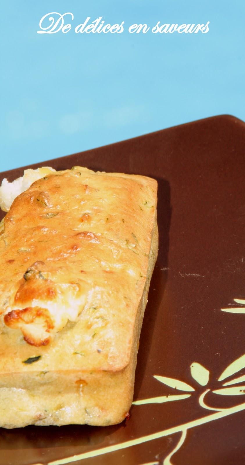 Cake Aperitif Courgette