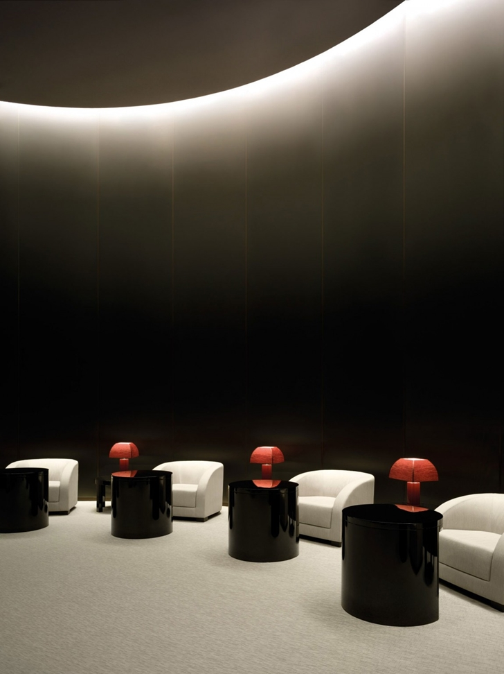 Sitting area in Armani Burj Khalifa Hotel Dubai