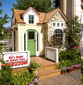 Living a doll 39 s life ag life size doll houses for American kit homes