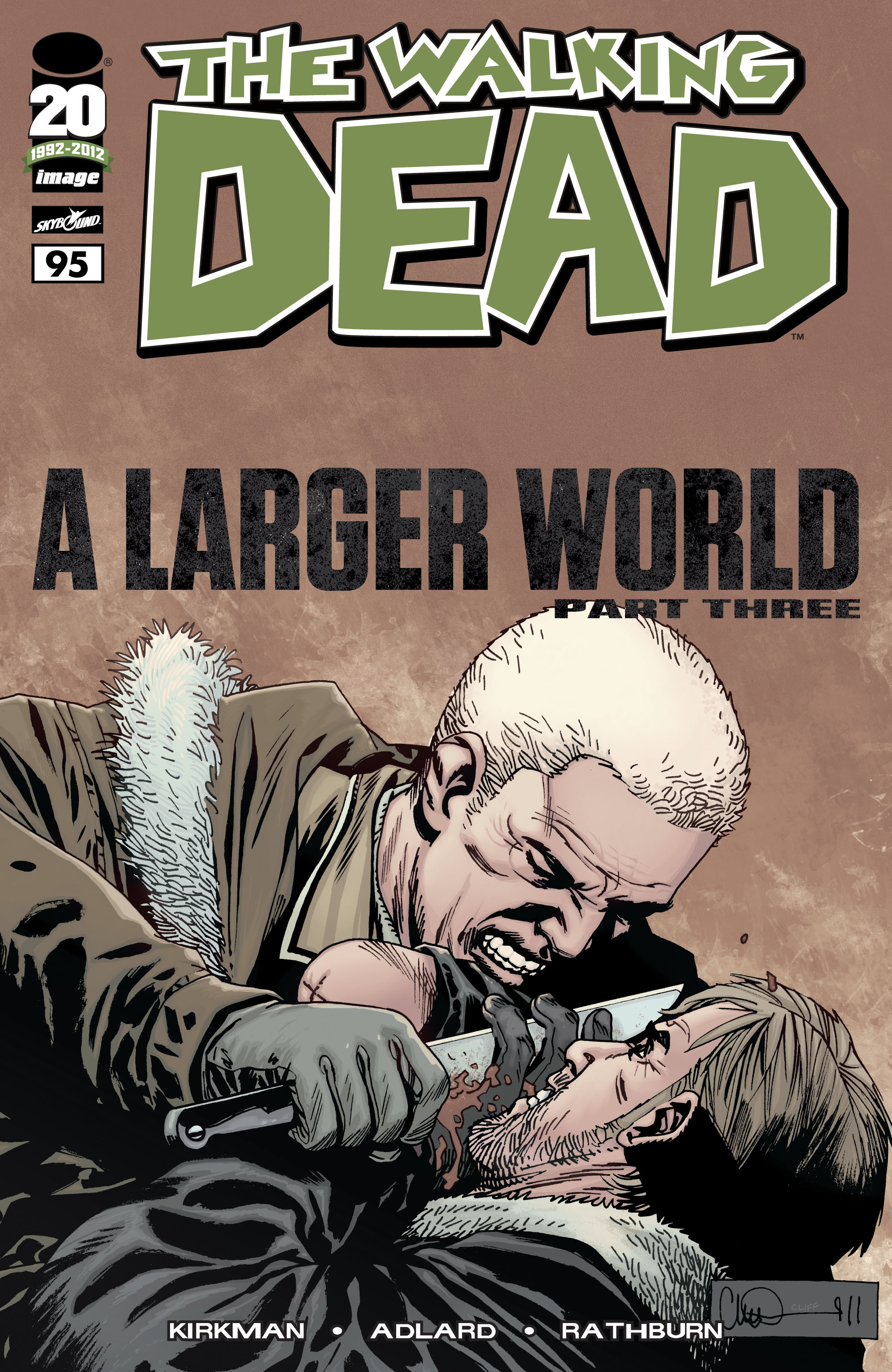 The Walking Dead Issue #95 Page 1